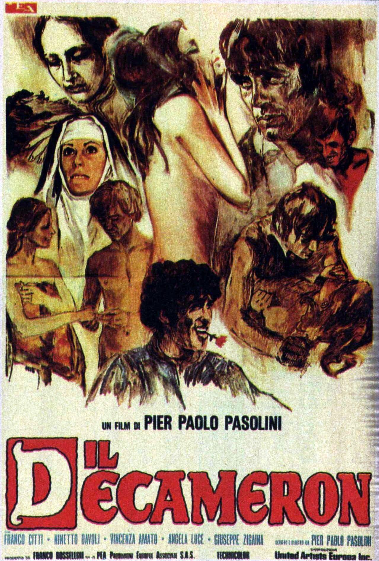 Franco Citti in Il Decameron (1971) | Città, Attore